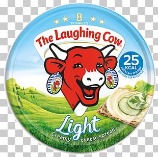 The Laughing Cow Milk Gouda Cheese Blue Cheese Cattle PNG