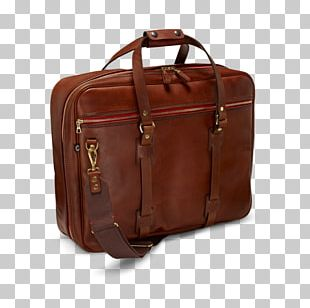 Baggage Leather Flight Bag Briefcase PNG