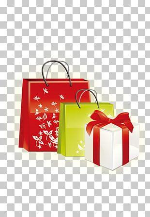 Gift Reusable Shopping Bag PNG