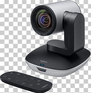 Pan–tilt–zoom Camera Logitech PTZ Pro 960-001021 Full HD Webcam 1920 X 1080 Pix Logitech PTZ Pro Camera Stand 1080p PNG