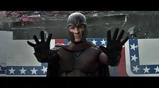 Magneto Professor X Mystique Wolverine X-Men PNG