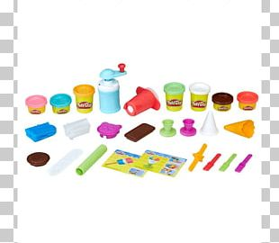 Play-Doh Ice Cream Cones Kitchen Creations Frozen Treats Toy PNG