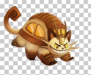Catbus Character Cartoon Illustration PNG