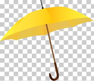 Umbrella Yellow Rain Icon PNG
