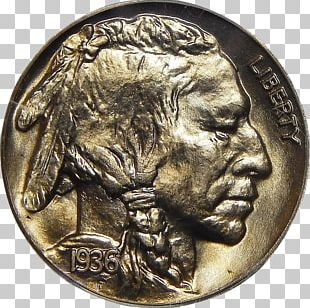 Coins And Coin Collecting The Buffalo Nickel PNG