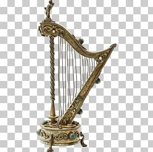 Celtic Harp Antique Jewellery Musical Instruments PNG