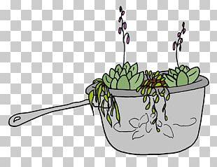 Floral Design Flowerpot Leaf PNG