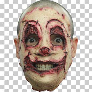 Latex Mask Serial Killer Halloween Costume PNG