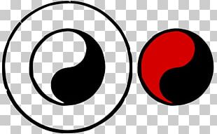 Yin And Yang Symbol Black And White Art PNG