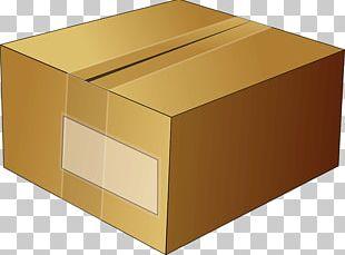 Cardboard Box Paper PNG