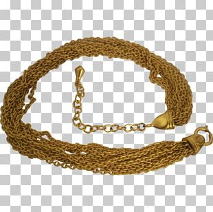 Bracelet Necklace Chain Gold Jewelry Design PNG
