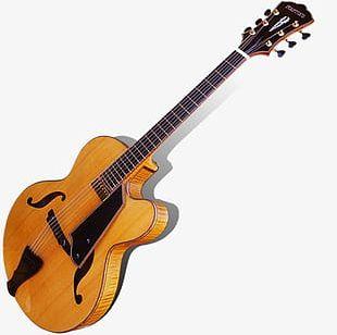 Vintage Guitar PNG