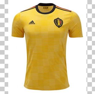 2018 FIFA World Cup Belgium National Football Team T-shirt Jersey Kit PNG