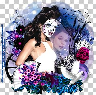 Photomontage Flower Hair Clothing Accessories PNG