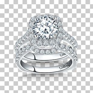 Wedding Ring Engagement Ring Jewellery Diamond PNG