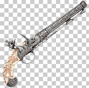 Trigger Flintlock Firearm Pistol Weapon PNG