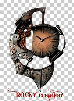 Bicycle Wall Clock Steampunk Wall Clock Unique Wall Clock Large PNG