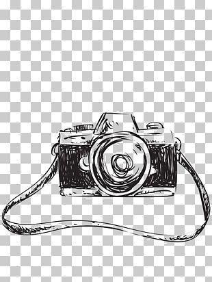 Drawing Camera Sketch PNG
