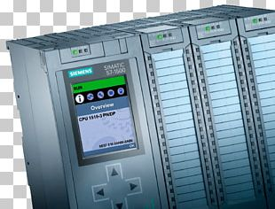 Simatic Step 7 Siemens Programmable Logic Controllers Control System PNG