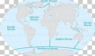 Arctic Ocean Pacific Ocean Atlantic Ocean Southern Ocean Earth PNG