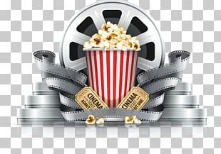 Popcorn Cinema Film PNG
