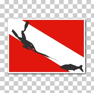 Spearfishing Diver Down Flag Free-diving Scuba Diving Underwater Diving PNG