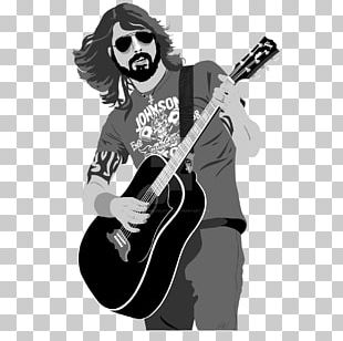 Musician Guitarist Electric Guitar Drawing PNG