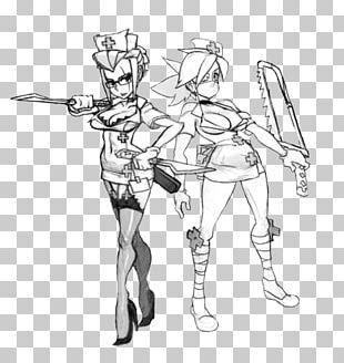Skullgirls Drawing Christmas Sketch PNG