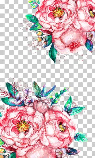 T-shirt Flower Color PNG
