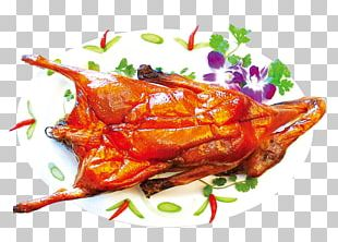 Peking Duck Barbecue Chicken PNG