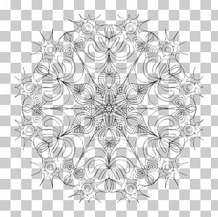 Mandala Drawing PNG