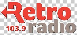 Nyíregyháza Retro Radio Logo FM Broadcasting PNG