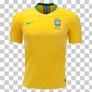 Brazil National Football Team 2018 World Cup Nike Jersey PNG