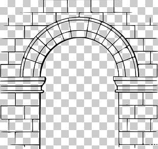 Arch Arc De Mig Punt Scale Barrel Vault PNG
