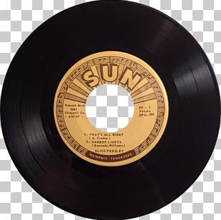 Sun Studio SUN RECORDS Phonograph Record Elvis At Sun Sound Recording And Reproduction PNG