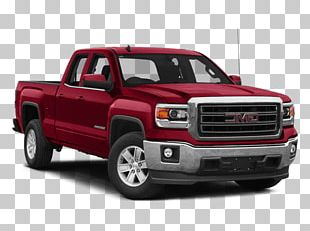 2018 Chevrolet Silverado 1500 Double Cab Car Pickup Truck Four-wheel Drive PNG