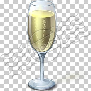 Champagne Glass Wine Alcoholic Drink PNG