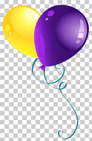 Purple Balloon PNG