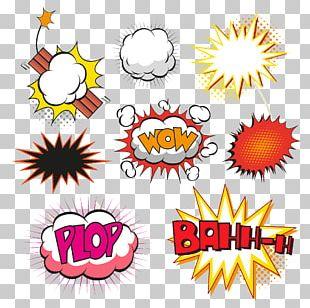 Comics Speech Balloon Comic Book Illustration PNG