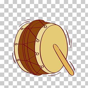 Hand Drum Musical Instrument Illustration PNG