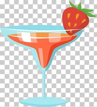 Cocktail Juice Pink Lady Margarita Martini PNG