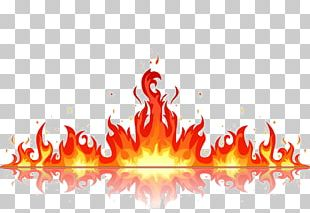 Flame Drawing PNG