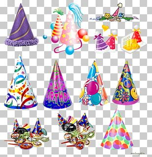 Party Hat Birthday Holiday PNG