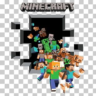 Minecraft Paper Wall Decal Sticker PNG