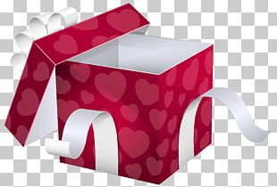 Paper Gift Wrapping Box PNG