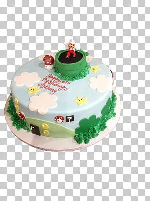 Sugar Cake Birthday Cake Frosting & Icing Torte PNG