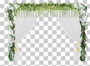 Flower Door Wedding Arch PNG