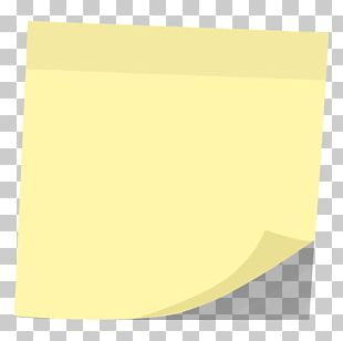 Paper Rectangle Square Yellow PNG