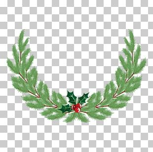 Wreath Christmas Crown PNG