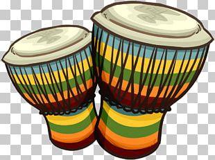 Bongo Drum Conga Djembe PNG